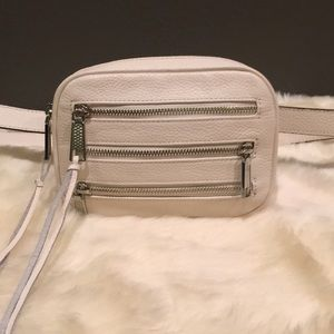 New white Rebecca Minkoff Fanny pack/ belt bag